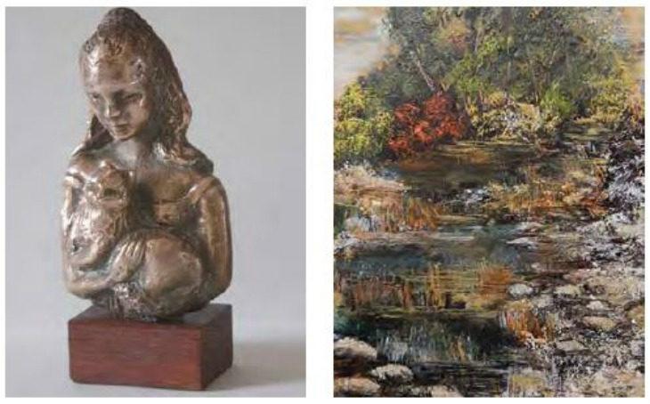 Alla galleria Pontevecchio di Imola le mostre della scultrice Anna Giargoni e del pittore Giampaolo Stefani
