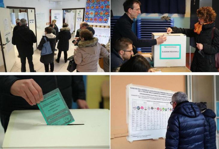 #ElezioniRegionali2020, a Imola alle 12 l'affluenza è del 25,54%, più che raddoppiata rispetto al 2014