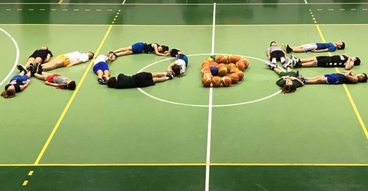 Il gruppo Esordienti della Uisp Imola Basket ha reso omaggio a Kobe Bryant