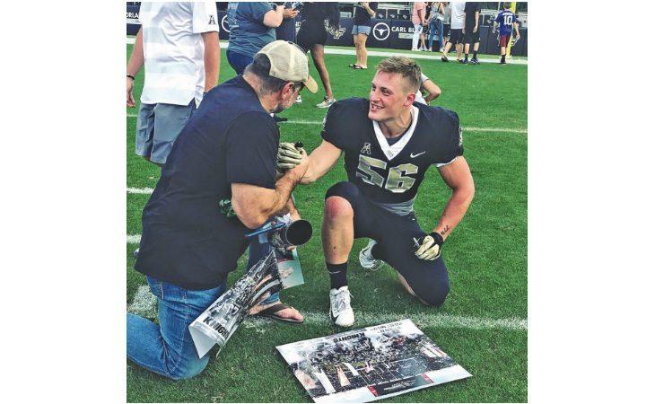 Football americano, il 23enne imolese Filippo Fort gioca e studia in Florida. «Sogno il draft del 2021»