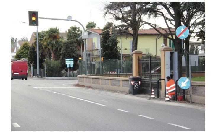 A Mordano photored al semaforo e nuovi autovelox sulla Lughese