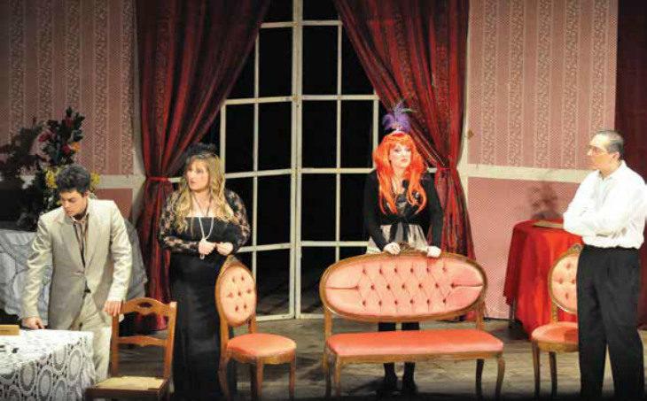 In pensione con spensieratezza con la compagnia Alidosiana di Castel del Rio al teatro Osservanza