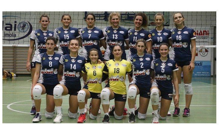 Pallavolo B1 femminile, tie-break fatale per la Clai ad Empoli