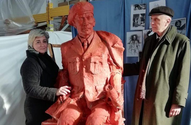 Pronto il modello per la fusione della statua del generale Anders che liberò Imola