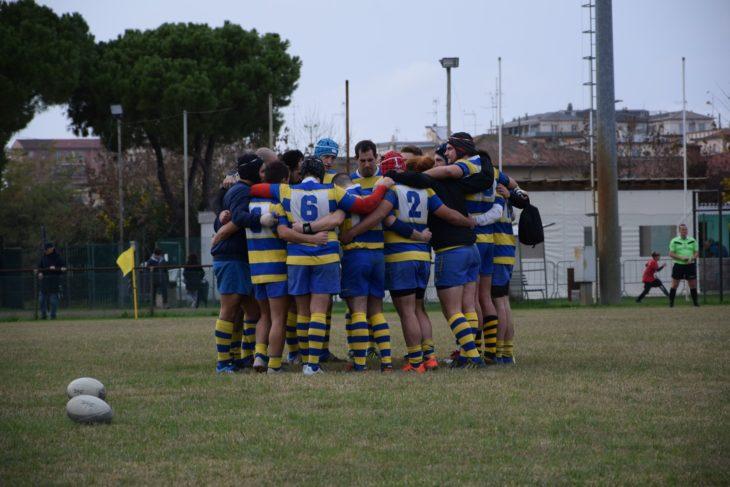 Il Rugby Castel San Pietro ha vinto alla Dozza, scarcerato un giocatore a metà partita