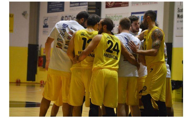 Basket C Gold, seconda sconfitta consecutiva per Medicina. Gialloneri superati da Scandiano