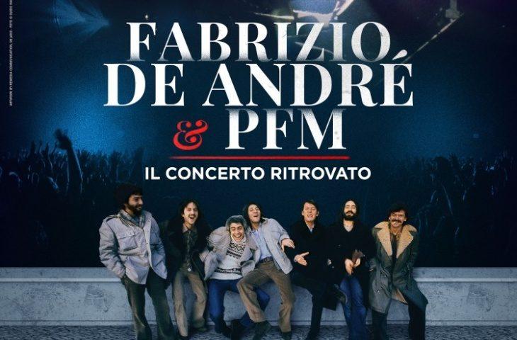 A «Cinema Osservanza» il concerto ritrovato di Fabrizio De Andrè e della Pfm