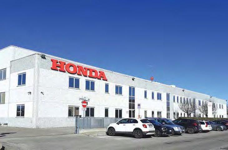 L'Honda della Ciap è arrivata a Castel Guelfo