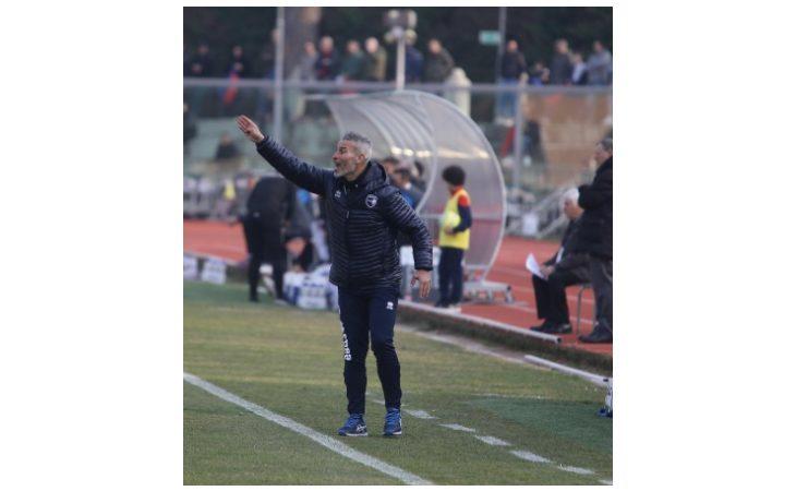 Calcio serie C, il tecnico Atzori nel post partita di Imolese-Cesena. IL VIDEO