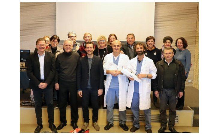 «Rina e le sue amiche» hanno donato un cistoscopio al reparto di Urologia dell'Ausl di Imola