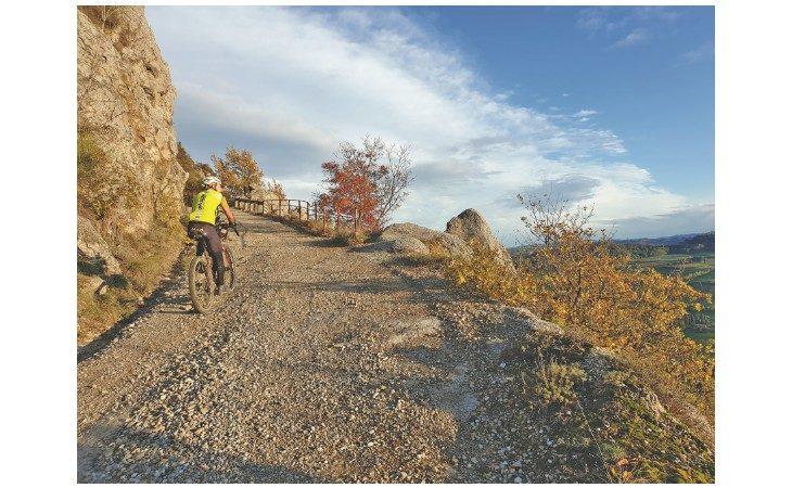 Bologna-Riccione in mountain bike, il «Romilia trail» ideato dal medicinese Stefano Romualdi