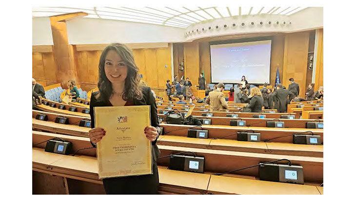 La tesi della medicinese Sara Mattei premiata alla Camera dei deputati