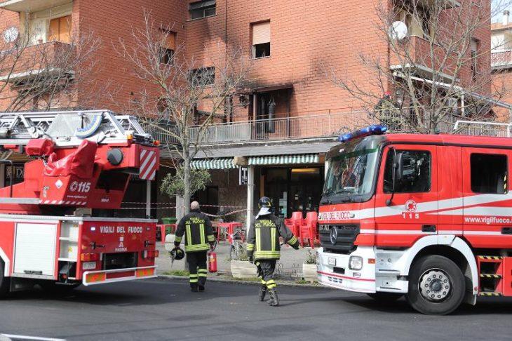Rogo su un terrazzo di un appartamento a Castel San Pietro