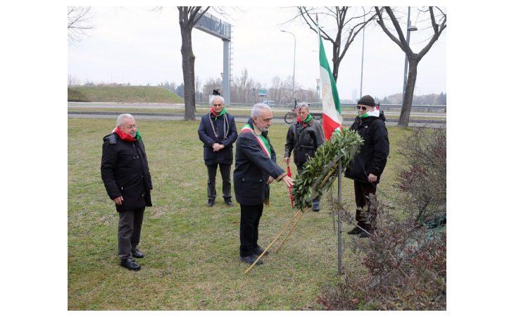 A Imola la cerimonia al monumento «La Rossa» in ricordo dei partigiani caduti