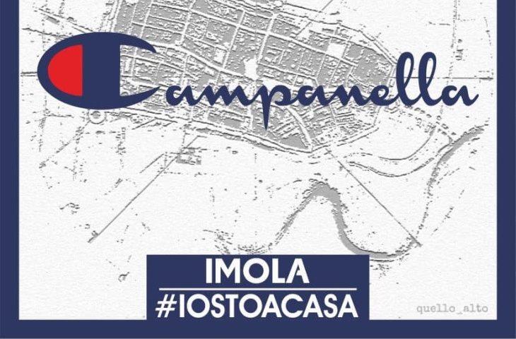 #iorestoacasa: I quartieri di Imola diventano loghi celebri
