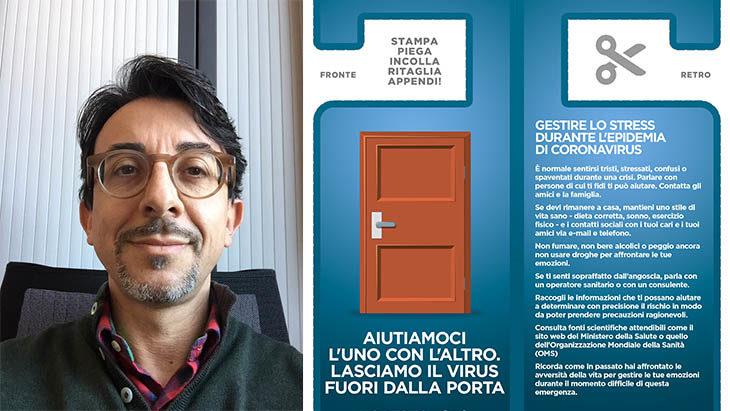Coronavirus, il consiglio dello psicologo: «Un po' d'ansia è normale, indossare la mascherina aiuta»