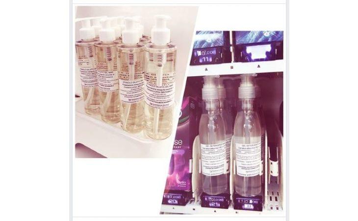 Coronavirus, alla farmacia di Zolino il gel detergente per le mani è in vendita nel distributore esterno