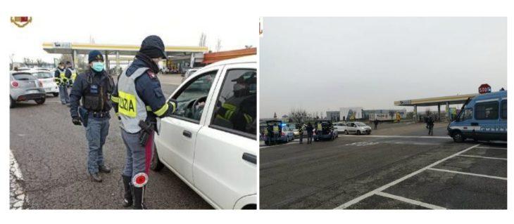 Coronavirus, controlli della polizia stradale in A14. Sanzionati 12 automobilisti