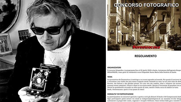 Coronavirus, Marco Isola lancia il concorso fotografico #iorestoacasa. «Creatività e solidarietà per l'ospedale»