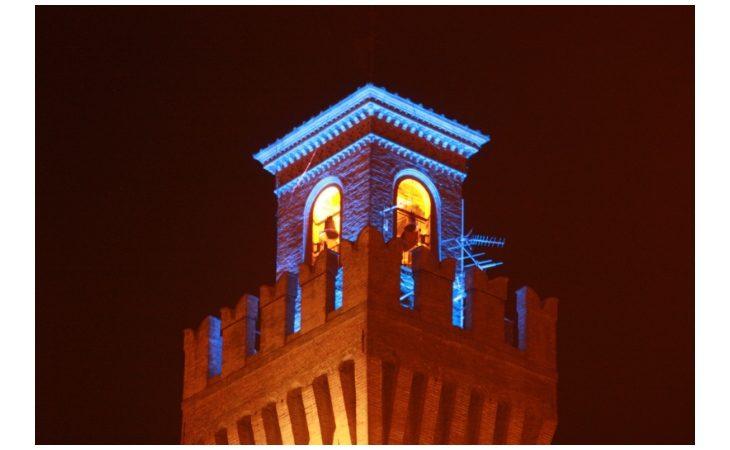Giornata mondiale dell'autismo, domani la torre del Cassero di Castello si illuminerà di blu