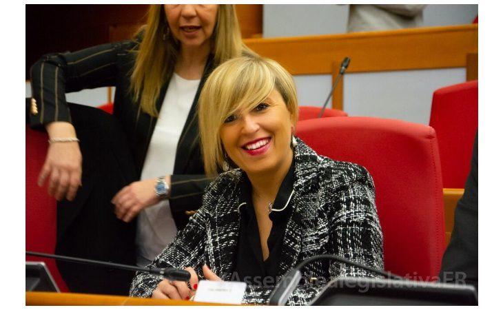 Francesca Marchetti eletta presidente di Commissione in Regione: «Lavoro e scuola per tutti le sfide che affrontiamo»
