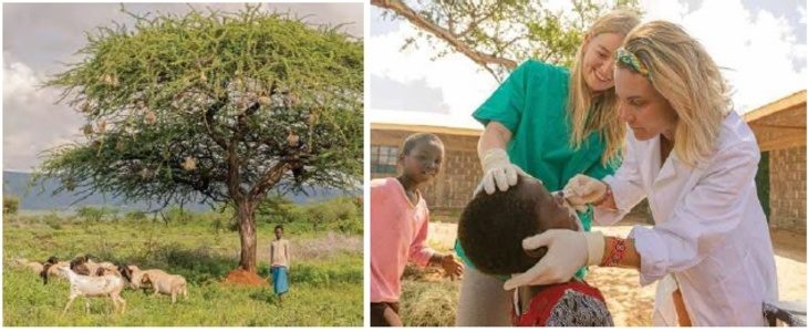 L'imolese Marco Barbera ha partecipato ad una missione in Kenya per aiutare donne e bambini