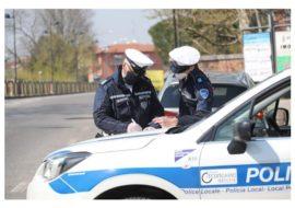 Coronavirus, non si fermano i controlli della polizia locale. Cinque persone sanzionate a Imola