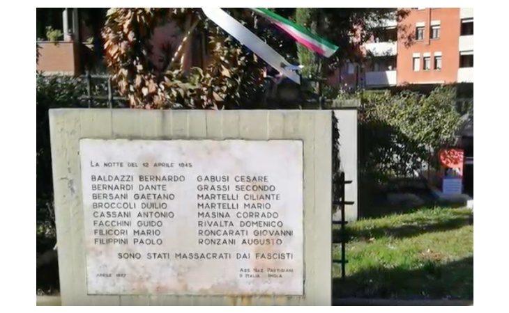 Gli studenti della scuola media «Innocenzo da Imola» ricordano i martiri di Pozzo Becca. IL VIDEO