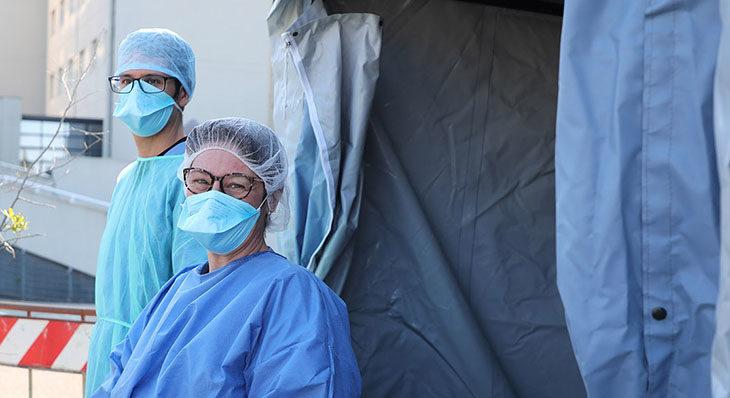 """Coronavirus, ancora un morto a Medicina, ma nessun nuovo caso positivo. Venturi: """"Crescita zero è l'obiettivo per tutti"""""""