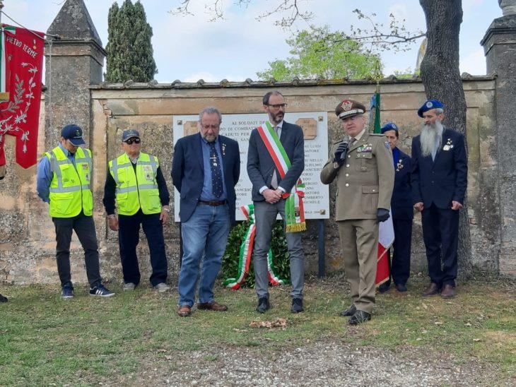 Castel San Pietro celebra il 75° anniversario della Liberazione all'insegna del motto #unitimadistanti