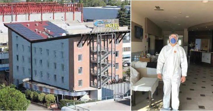 L'Euro Hotel di Imola convertito temporaneamente in albergo per convalescenti Covid in isolamento