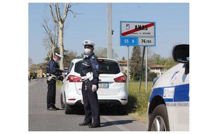 Coronavirus, alcuni automobilisti sanzionati nel weekend