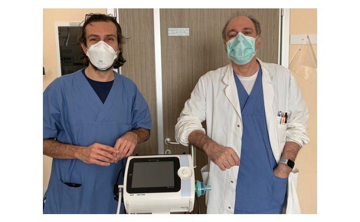 Coronavirus, Lions e Leo Club di Castel San Pietro Terme donano un ventilatore polmonare all'Ausl di Imola