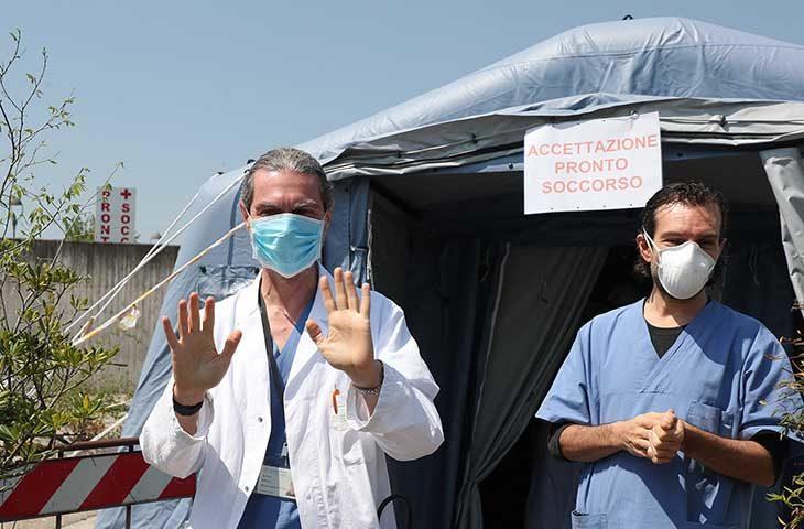 """Coronavirus, un nuovo positivo, ma si svuota anche l'Osco a Castello. Venturi: """"Notizia meravigliosa: in regione i guariti hanno superato i malati"""""""