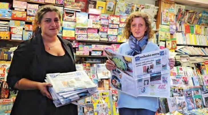 «Un salto in edicola» è andata a trovare Claudia Martini, che da 33 anni vende giornali sotto l'orologio