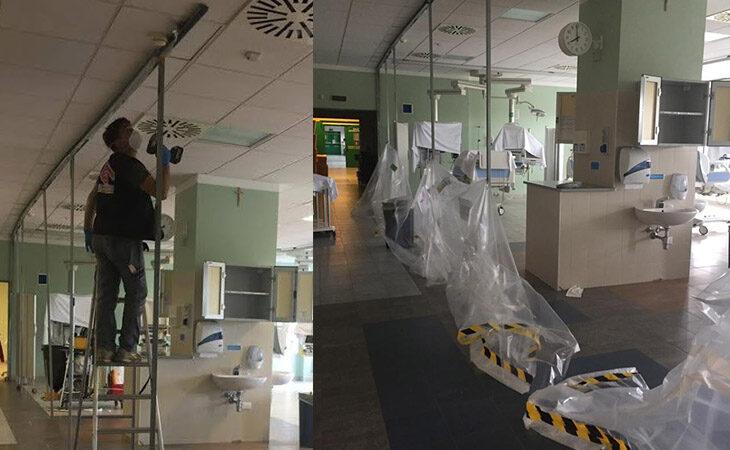 Coronavirus, solo 16 casi attivi nel circondario di Imola, l'Area critica dell'ospedale torna alla normalità, rimangono due posti in più per pazienti Covid