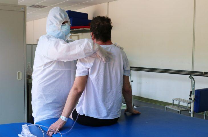 Il reparto Covid-19 di Montecatone accoglie pazienti da altri ospedali