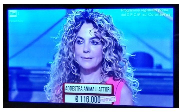 L'imolese Stefania Bartolini tra i partecipanti dei «Soliti Ignoti» su Rai 1