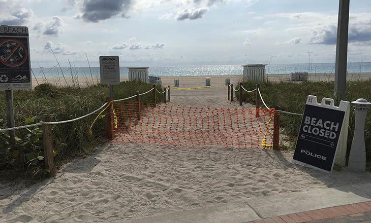 """Coronavirus, un imolese a Miami: """"Risse nei supermercati per la carta igienica e spiagge chiuse"""""""