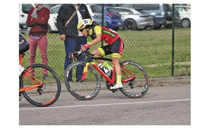 Ciclismo, ritorno agli allenamenti su strada per Alessia Patuelli: «E' stato bello, difficile riprendere le gare»