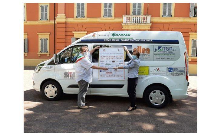 Al Comune di Ozzano un nuovo mezzo per il trasporto di anziani e disabili