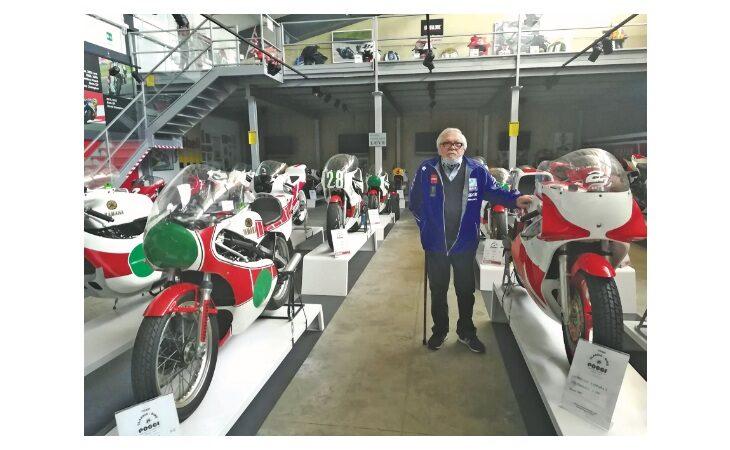 Il «nonno» dell'Imolese e la passione di una vita per i motori