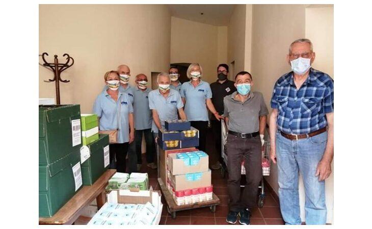 Coronavirus, l'Avis Castel San Pietro scende in campo in favore dei più bisognosi. Donati prodotti alimentari alla Caritas