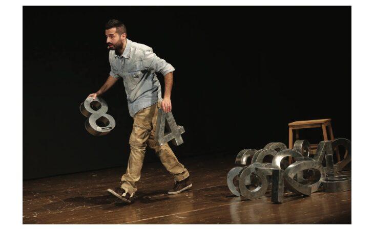 A Medicina l'attore Dario Criserà in scena con un «Teatro d'istanti»