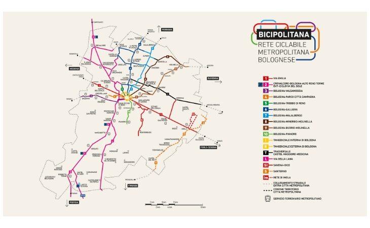 Progetto Bicipolitana, alla Città metropolitana 2,7 milioni di euro per lo sviluppo delle ciclabili