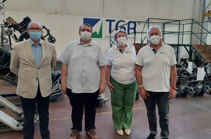 La Tgr di Ozzano diversifica la produzione con un occhio al sociale