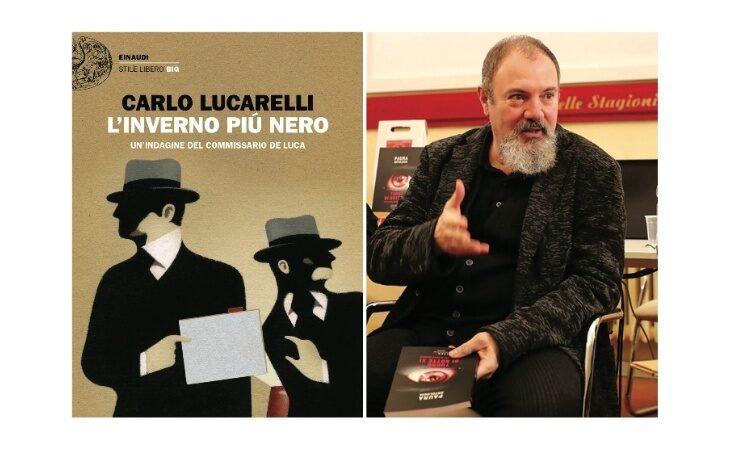 Carlo Lucarelli in piazza con il suo commissario, stasera a Mordano la presentazione del romanzo «L'inverno più nero»