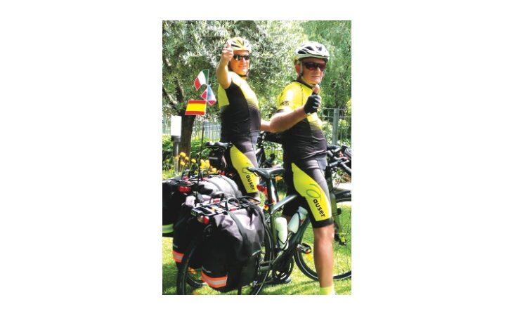 Due volontari Auser in bici per 2.600 km da Borgo Tossignano a Santiago di Compostela