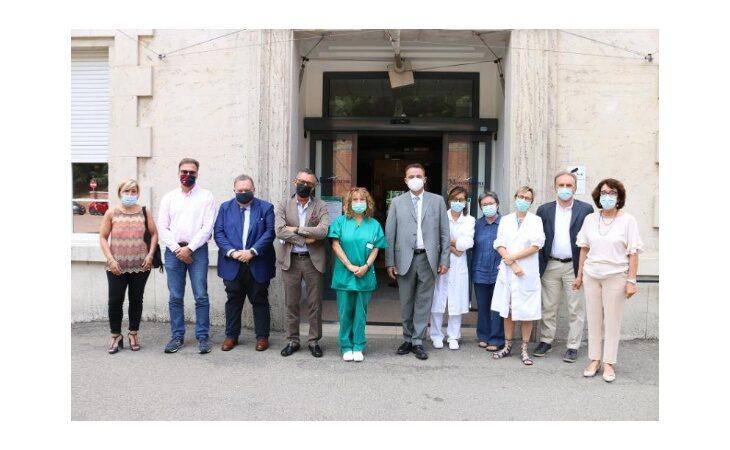 L'assessore regionale Raffaele Donini in visita al Montecatone Rehabilitation Institute