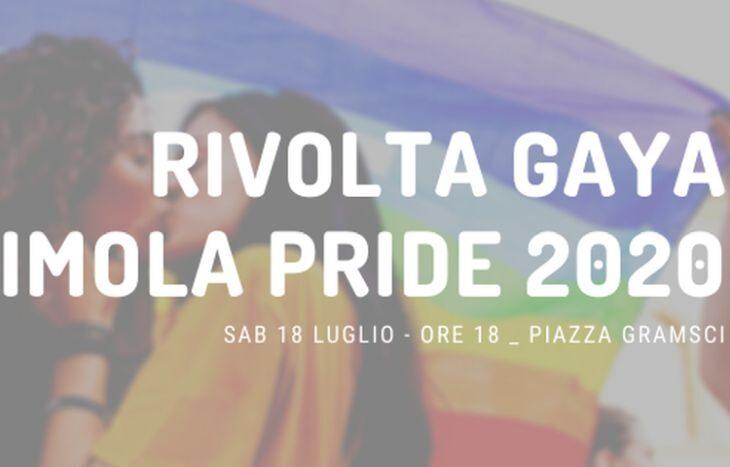 Torna a Imola la Rivolta Gaya. Terza edizione in piazza Gramsci sabato 18 luglio
